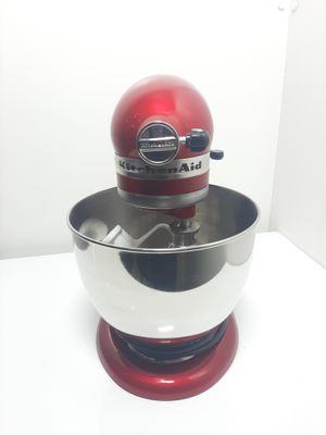 Stand Mixer Kitchenaid Mixer Bat Planet Candy Apple - Apple Red