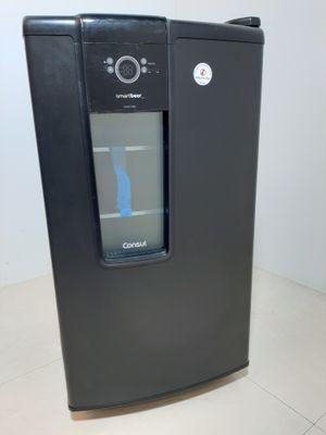 Cervejeira Consul Porta Metal/vidro 82l Pr - Preto
