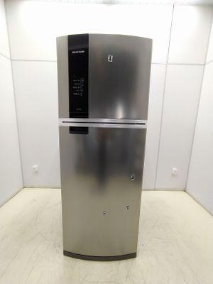 Refrigerador Brastemp 462l Frost Free 2 Portas C/ Espaco Adapt E Turbo Control  - Inox