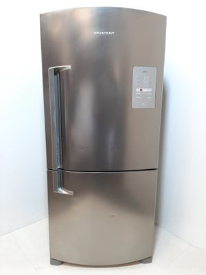 Refrigerador Brastemp Frost Free Inverse C/ Smart Bar 2 Portas 573l - Inox