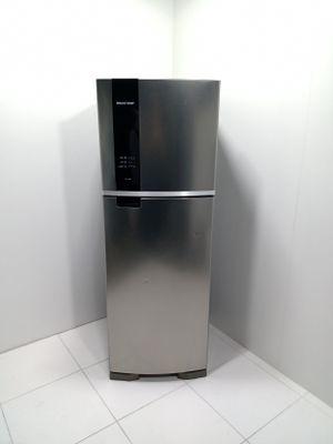 Refrigerador Brastemp Frost Free Evox 2 Portas 375l - Inox
