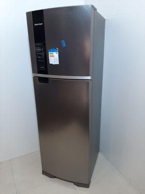 Refrigerador Brastemp 400l Frost Free 2 Portas  - Inox