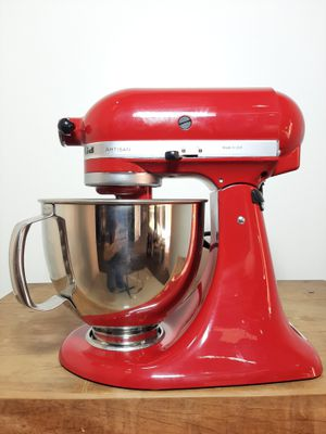 Batedeira Kitchenaid Stand Mixer Classic C/ 10 Velocidades - Vermelho