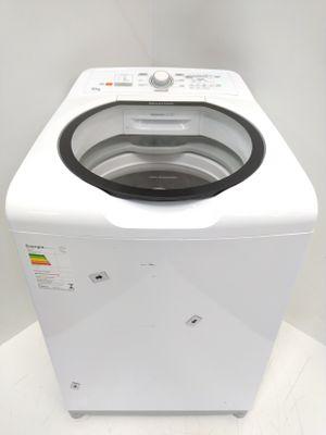 Lavadora Brastemp 15kg C/ Ciclo Edredom Especial, Enxague Antialérgico E Ciclo Mais Branco - Branco