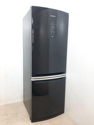 Refrigerador Brastemp 460l Frost Free Inverse 2 Portas  - Preto