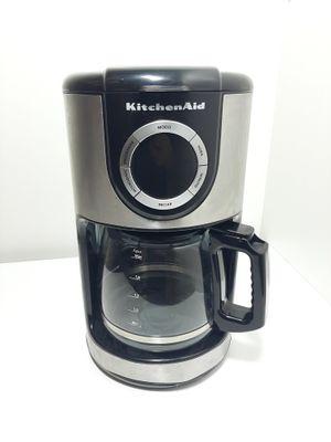 Cafeteira Kitchenaid Elétrica Programável C Filtr - Prata