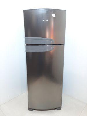 Refrigerador Consul Frost Free Evox C/ Prateleiras Altura Flex 2 Portas 340l - Inox