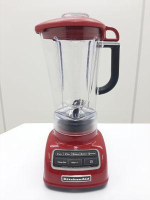 Liquidificador Kitchenaid C/ 05 Velocidades, Triturador De Gelo E Jarra De 1,7l Em Policarbonato - Vermelho