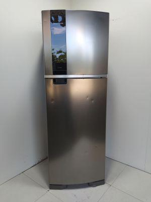 Refrigerador Brastemp Frost Free 2 Portas 375l Com Espaco Adapt - Inox