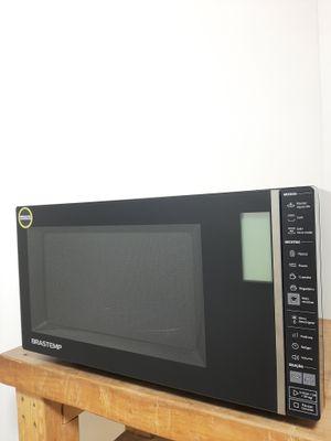 Microondas Brastemp C/ Painel Integrado E Função Grill 32l - Preto
