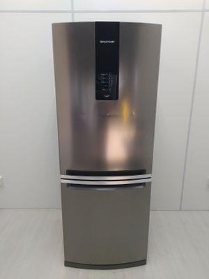 Refrigerador Brastemp 443l Frost Free Inverse 2 Portas Turbo Ice  - Inox