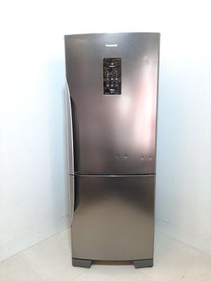Refrigerador Panasonic 425l Frost Free 2 Portas Inverse C/ Tecnologia Inverter - Aço Escovado