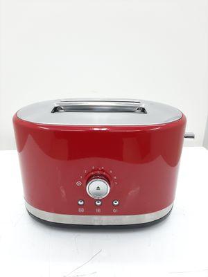 Torradeira Kitchenaid Manual Artisan 2 Fatias C/ 7 Niveis De Tostagem - Vermelho