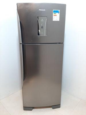 Refrigerador Panasonic Frost Free 435l 2 Portas - Aço Escovado
