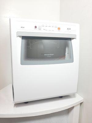 Lava Loucas Brastemp Ative 8s Compacta C/ Ciclo Pesado - Branca