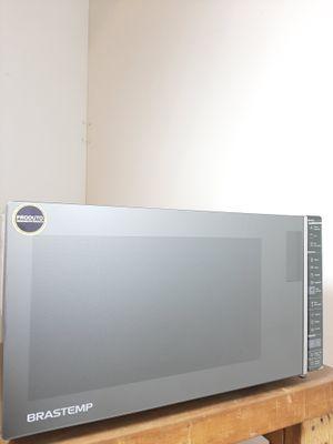 Micro-ondas Brastemp Função Grill 32 L - Inox