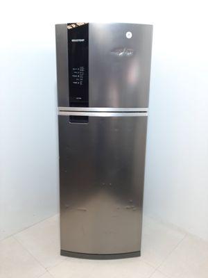 Refrigerador Brastemp Frost Free 2 Portas C/ Espaço Adapt E Turbo Control 462l - Inox