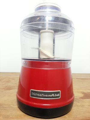 Processador Kitchenaid De Alimentos 0,8l - Vermelho