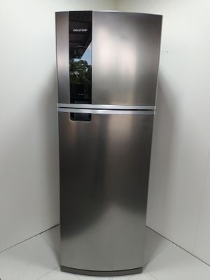 Refrigerador Brastemp 478l Frost Free 2 Portas C/ Freeze Control Advanced - Inox