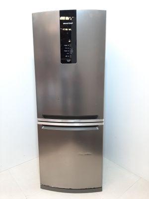 Refrigerador Brastemp Frost Free Inverse 2 Portas Turbo Ice 443l  - Inox