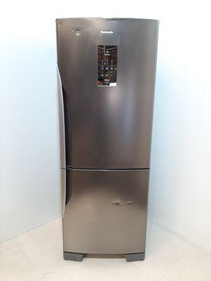 Refrigerador Panasonic Frost Free 425l 2 Portas Inverse Com Tecnologia Inverter - Aço Escovado