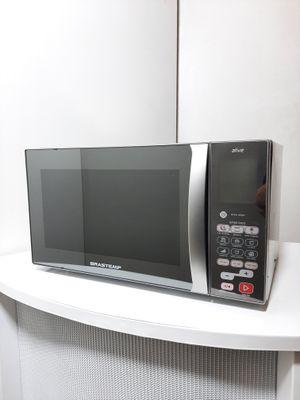 Micro-ondas Brastemp 38l Ative! C/ Grill - Inox