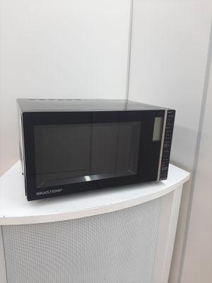 Micro-ondas Brastemp 32l C/ Painel Integrado E Funcao Grill  - Preto