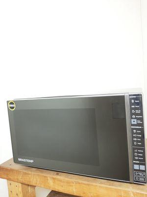 Micro-ondas Brastemp 32 L - Inox