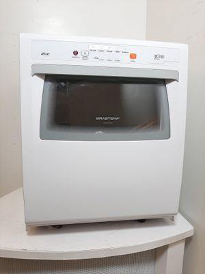 Lava Loucas Brastemp Ative 8s Compacta C/ Ciclo Pesado - Branco