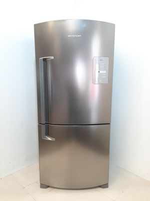Refrigerador Brastemp 573l Frost Free Inverse C/ Smart Bar 2 Portas  - Inox