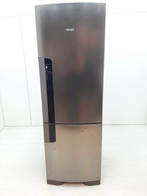 Refrigerador Consul 397l Frost Free C/ Turbo Freezer 2 Portas  - Inox