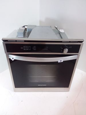 Forno Brastemp 78l De Embutir A Gas C/ Conveccao E Termômetro Meat Control - Inox