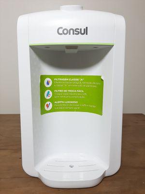 Purificador Consul Bem Estar C/ Alerta Luminoso Para Troca De Refil - Branco